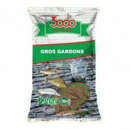 Прикормка Sensas 3000 Club Gros Gardon 1 кг (Большая плотва)